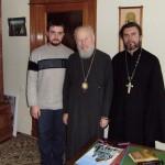 2010 г. Передача мощей Киево-Печерских преподобных